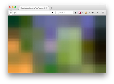 Blurry image in Chrome